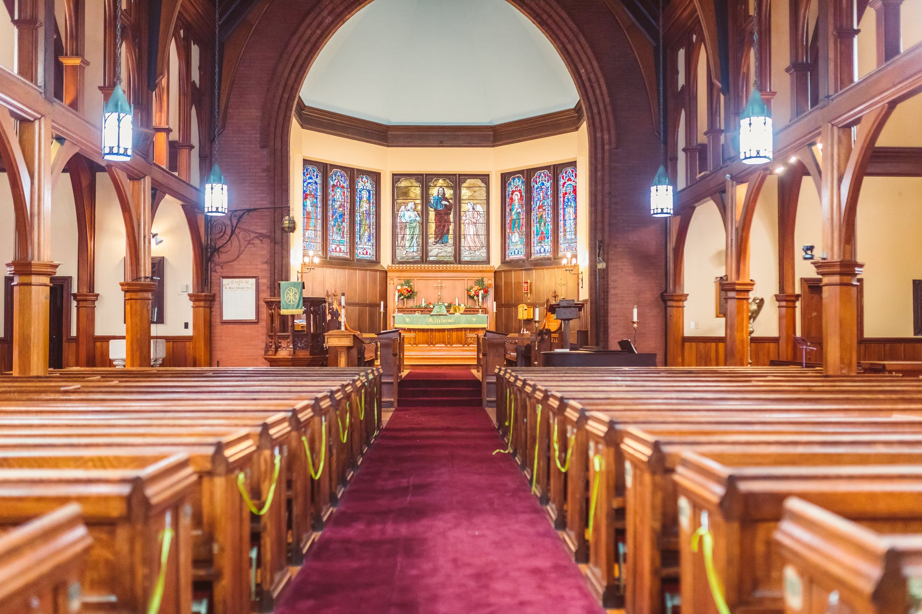 SEATED IN THE SANCTUARY